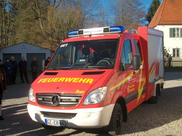 Neues Feuerwehrauto - 2010 - Bild