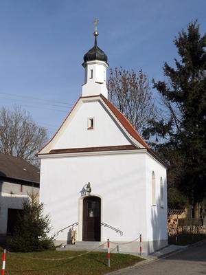 Grossansicht in neuem Fenster: Kapelle Weltenberg von aussen - Dezember 2013
