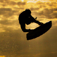 Wakeboarden am Thannhauser Weiher